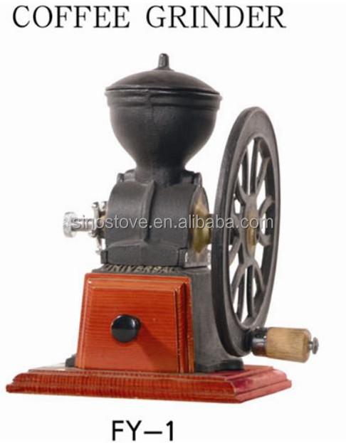 gusseisen kleine antique manuelle kaffeem hle kaffeem hle. Black Bedroom Furniture Sets. Home Design Ideas