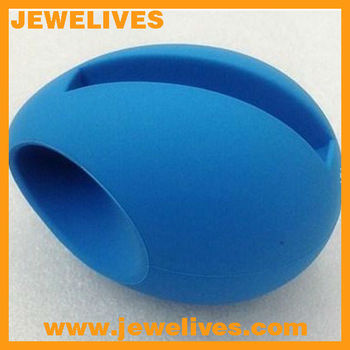 Popular egg shape silicone speaker for iphone5