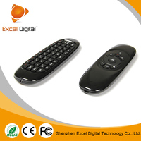 2015 Factory Supply air mouse with hebrew keyboard
