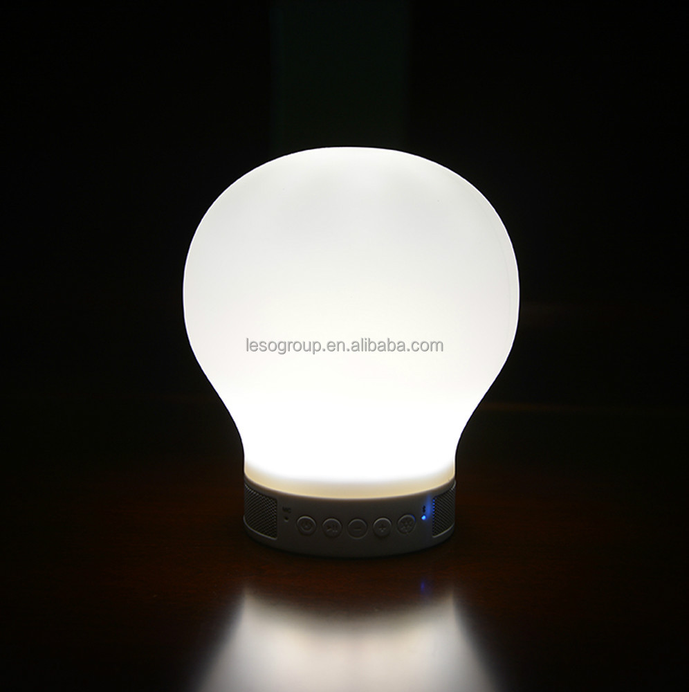 Intelligent emotional speaker lamp