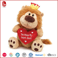 AZO free Chinese Yangzhou supplier stuffed animals plush toy for valentines day gifts 2016 new products