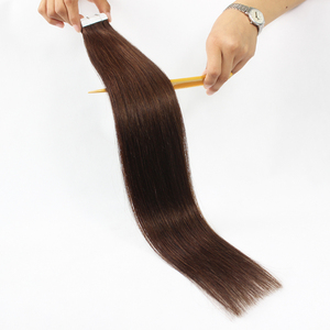 New arrival alibaba certified double weft wholesale virgin remy tape hair best quality brazilian hair