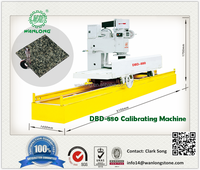 2016 HOT MODEL! DBD-880 Marble slab Calibrating Machine for sale, fix thickness variation, WANLONG