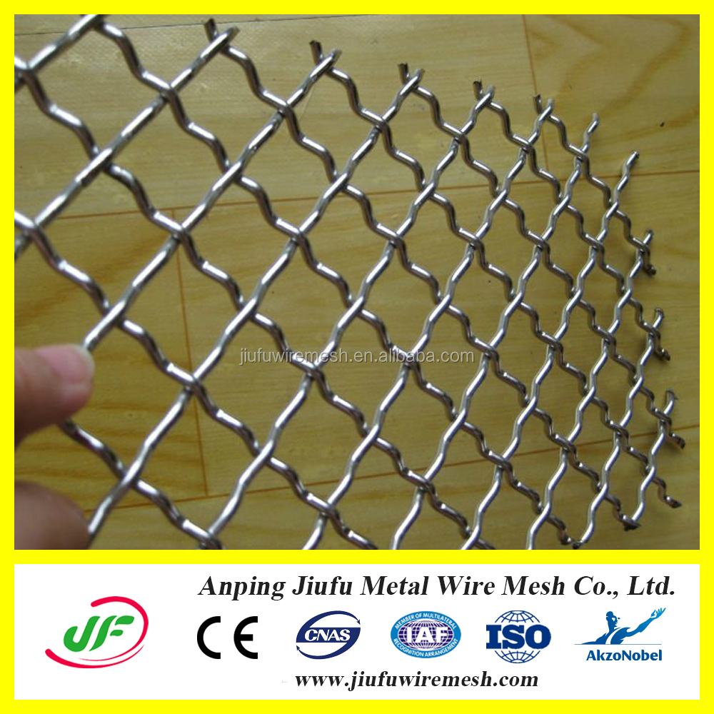 Stainless steel crimped wire mesh from anping ying hang yuan metal