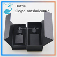 ISO 8317:2003 1oz 30ml glass bottle olive oil glass bottle with dropper with paper box,e-liquid black glass bottle