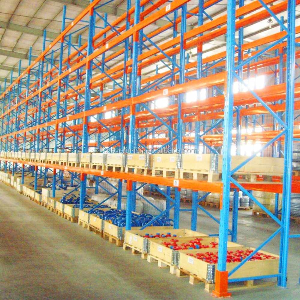 original blue and orange pallet <strong>rack</strong> with steel material