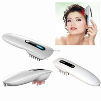 Homeuse OEM LLLT Semiconductor laser plastic hair comb acne and hair loss treatment