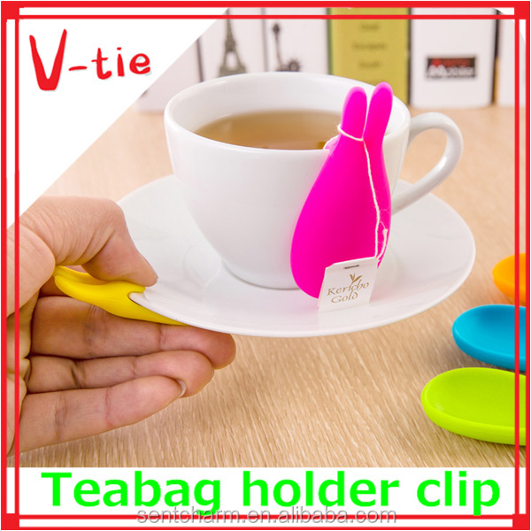 Manufacturer directly sells mini rabbit shaped food grade silicone cheese holder