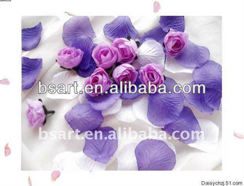 Wedding decoration artificial rose petals