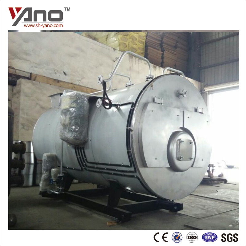 Compact Structure Pharmaceutical Horizontal Liquefied Gas Fired Hot Water Boiler