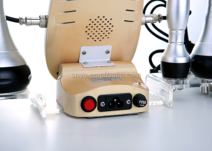 Cheapest ultrasonic 40K fat blasting machine with touch color screen lw-101