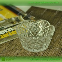 New Arrival Glass Sugar Bowl With Lid
