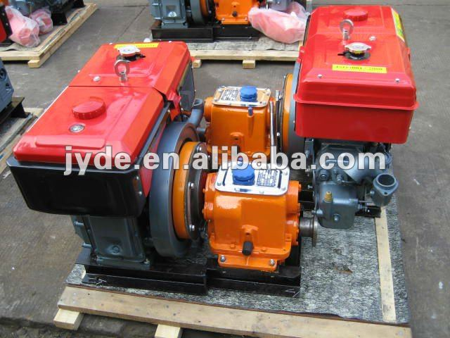 single cylinder marine diesel engine set