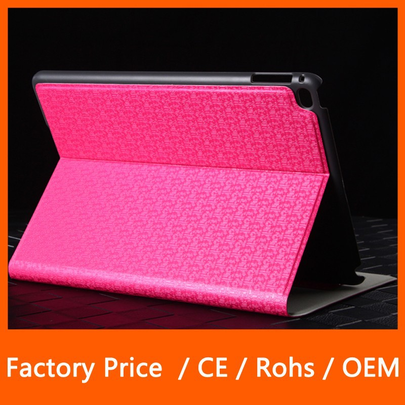 Factory Price Ultra-thin Filco Stand Holder with Card Slot Protector Leather Tablet Case for iPad 6 iPad Air 2