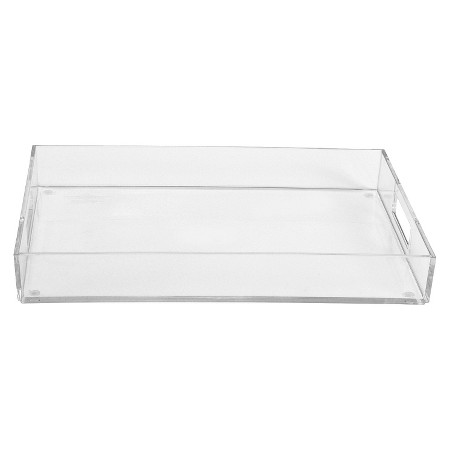 Customized craft clear acrylic candy tray