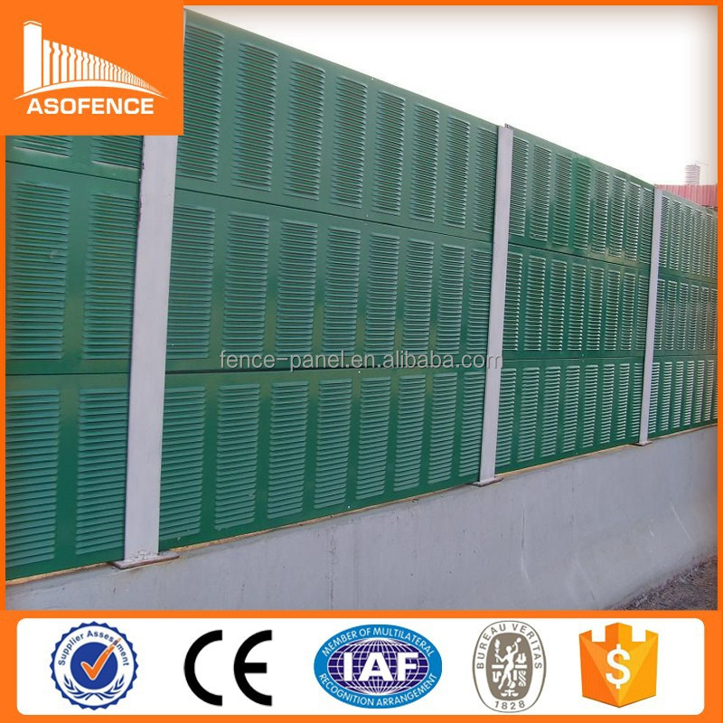 custom soundproof highway noise protection wall