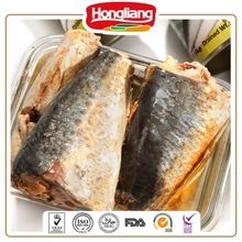 Chinese good canned mackerel fish wholesale