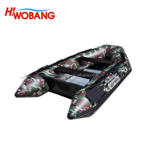 2017 CE Certificate China Factory High Quality Alu Seats The Camouflage Inflatable Boats