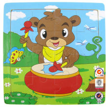 Cartoon jigsaw paper puzzle toy for kids