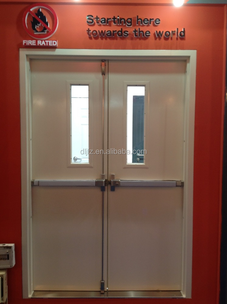 Steel Door Fire Rated Glass Buy Fire Door Steel Door Glass Door Product On
