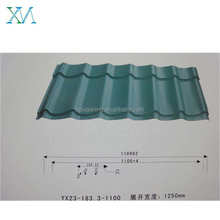 decoration used,archaize roofing tile ,colored roofing sheet