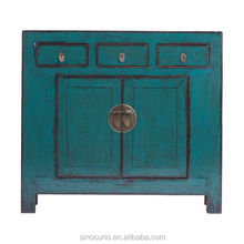 Chinese Antique Vintage Recycled Wood Cabinet, Sideboard, Furniture