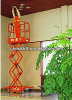 Mobile scissor lift with handrail--JCPT(Mini)