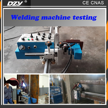 Portable auto arc seam track system welding carriage machine
