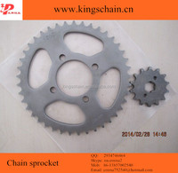 Chinese manufacturer African motor sprockets and chains