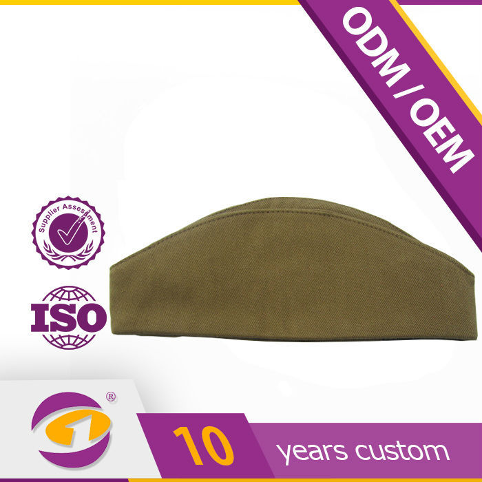 russia custom design boat shaped cap garrison hat for Army