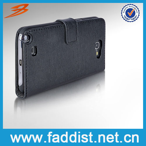 purse leather case for samsung galaxy note 2 GENUINE leather