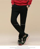 The latest design thickening and velvet leisure sports long pants for men