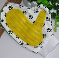 2015 pet grooming glove with cute design