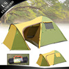 5-8 People One Bedroom Glass Fiber Pole Instant Tent, Expedition Tent, Double Deck Tent for Hiking And Camping. Quality Guarrant