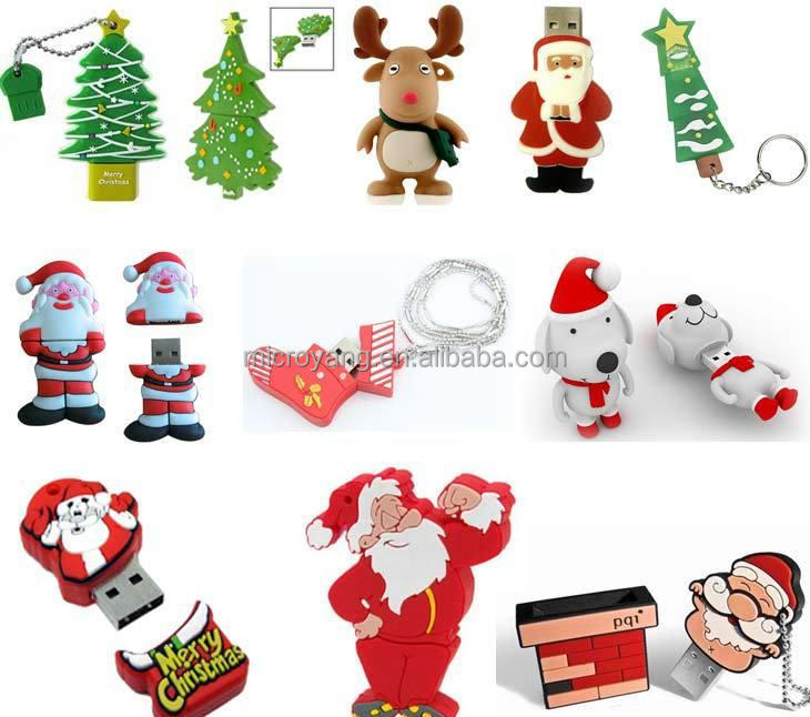 Christmas Gift Santa Claus USB Flash Drive, USB Stick