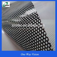 2016 Low price glass one way vision plastic film covering one way vision