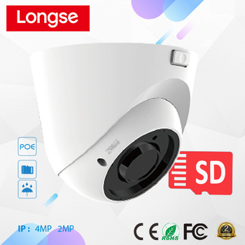 Onvif camera, night vision dome camera, cctv camera support SD Card, Audio, Motion detection - LIRDQS200
