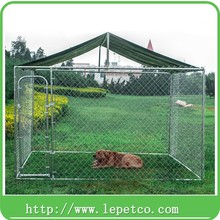 factory wholesale steel frame heavy duty chain link cheap dog runs
