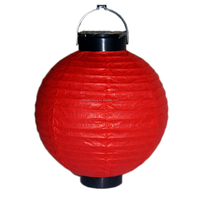 Paper LED battery lanterns custom size and color ,decorative paper lamps