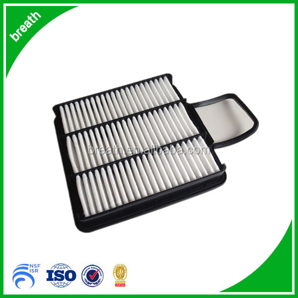 Air filter type square air filter