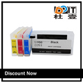 Compatible original for hp T120/T520 printer ink cartridge with auto reset chip