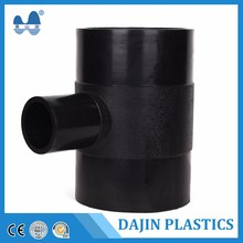 HDPE PE Compression Fittings Female Thread Reducing Tee