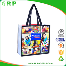 Recyclable eco custom printing foldable pp nonwoven bag for cloth