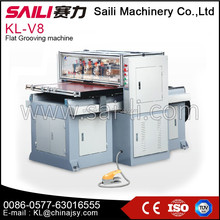 KL-V8 China SAILI brand packing cartons mounted cardboard slotter
