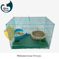 Cheaper new arrival strong steel large cat cage crate