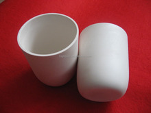 High pure alumina ceramic parts corundum crucible