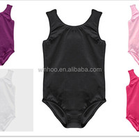 Basic Shiny Thong Sleeveless Leotard 7size
