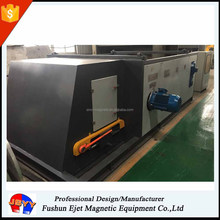 Eddy current separator for foundry shell dross aluminum scraps recovery