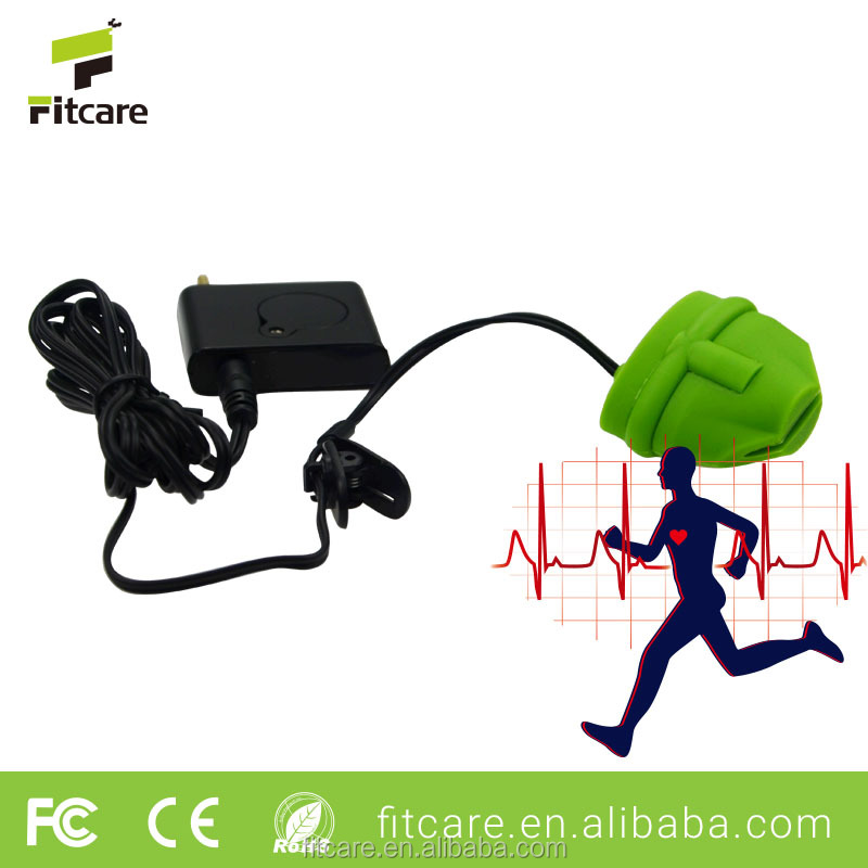 Factory quality control USB heart rate monitor finger clip infrared penetrate type sensor for sports running