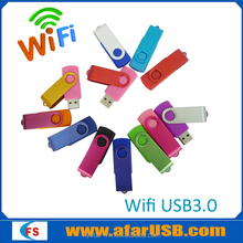 Wireless WiFi Portable USB Memory Stick Flash Drive thumb U Disk 8GB 16GB 32GB